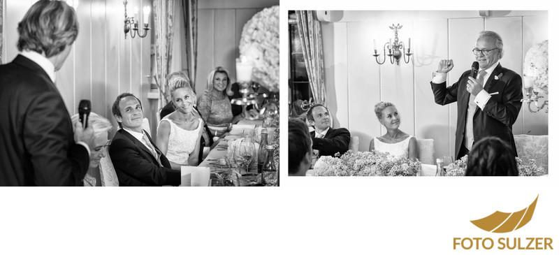 Ansprachen bei Hochzeit im Schloss Hellbrunn