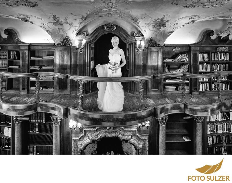 Hochzeit Schloss Leopoldskron Bibliothek
