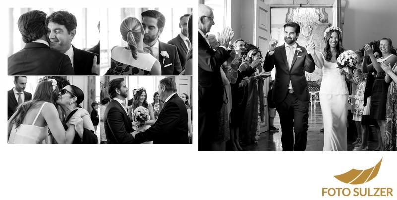 Hochzeit Mirabell - Gratulationen und Auszug