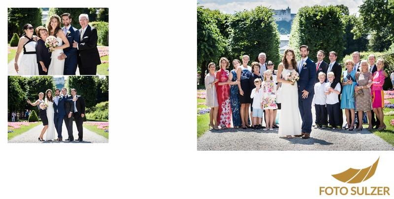 Hochzeit Mirabellgarten - Familie