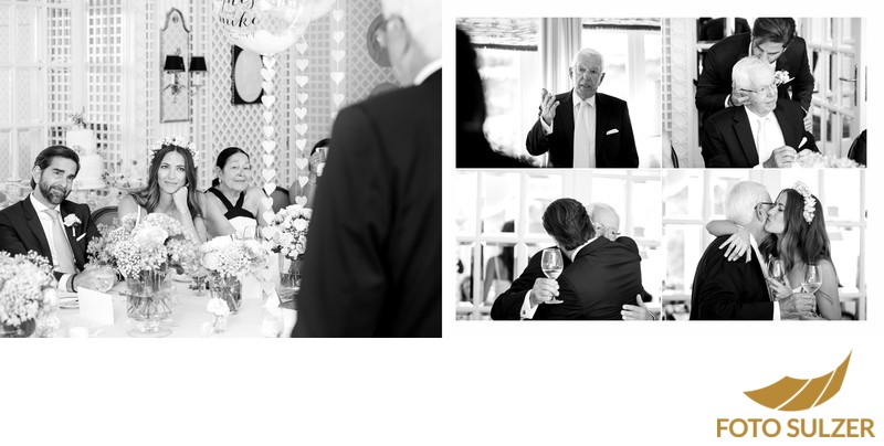 Hochzeit Hotel Sacher - Ansprache des Vaters des Bräutigams