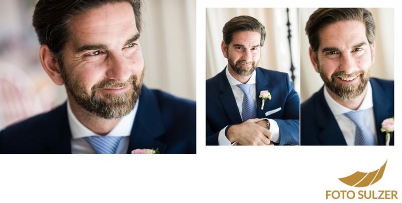 Hochzeit Hotel Sacher - Porträt Bräutigam