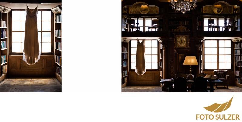 Hochzeit Schloss Leopoldskron - Hochzeitskleid