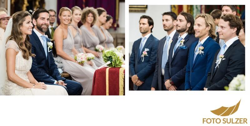 Hochzeit Basilika Maria Plain - Trauzeugen und Trauzeuginnen