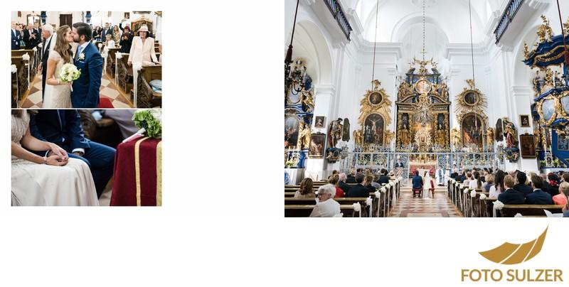 Hochzeit Basilika Maria Plain -