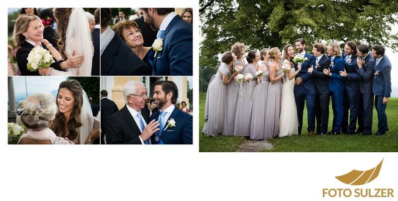 Hochzeit Basilika Maria Plain - Gratulationen