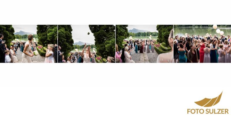 Hochzeit Schloss Leopoldskron - Brautstrauß