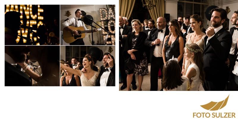 Hochzeit Schloss Leopoldskron - Musik und Tanz