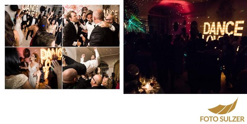 Hochzeit Schloss Leopoldskron - Party