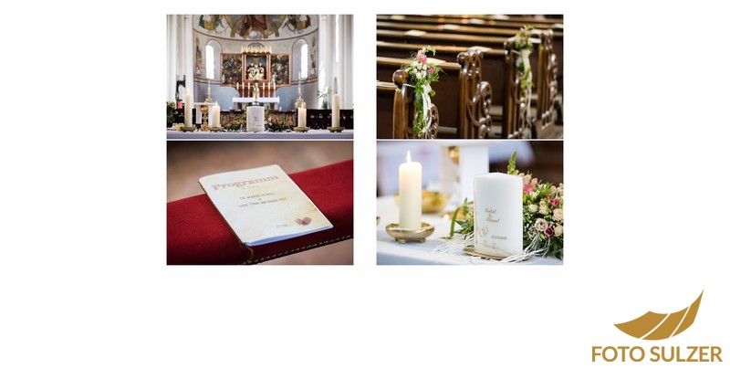 Hochzeit St. Zeno Kirche Bad Reichenhall - Details