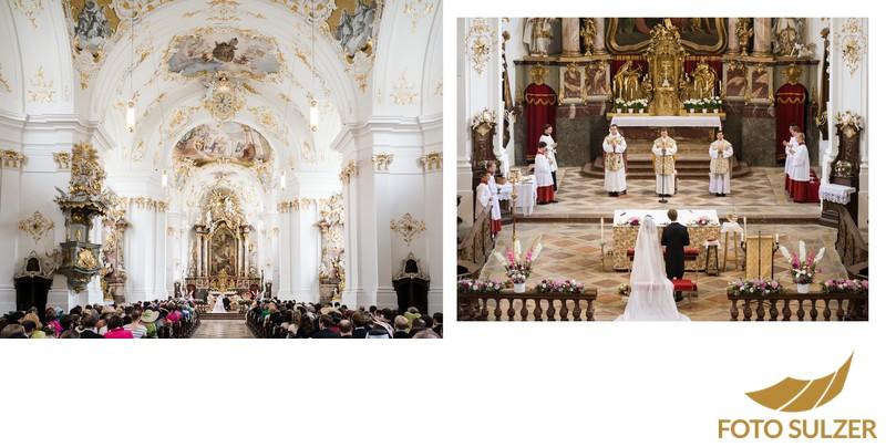 Hochzeit bei München Kloster Schäftlarn