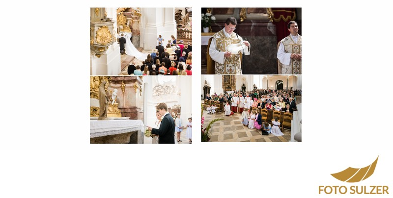 Hochzeit bei München im Kloster Schäftlarn