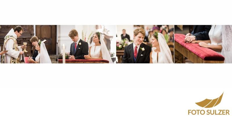 Hochzeit bei München Kloster Schäftlarn - Kommunion