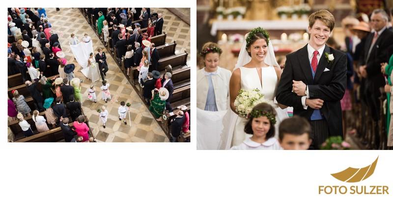 Hochzeit bei München Kloster Schäftlarn - Auszug