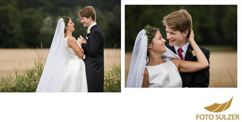 Hochzeit südlich von München - Paarshooting