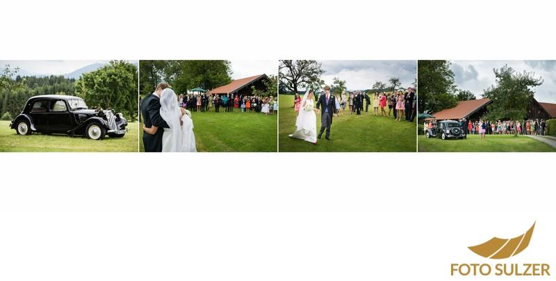 Hochzeit südlich von München - Empfang
