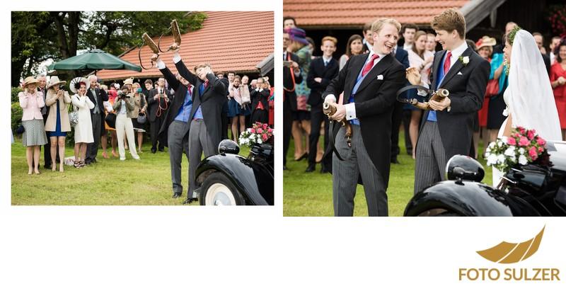 Hochzeit südlich von München - Schützen