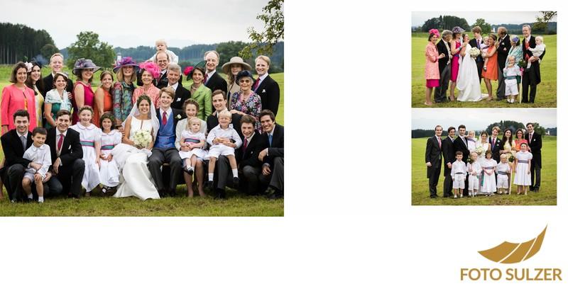 Hochzeit südlich von München -  Familienfotos