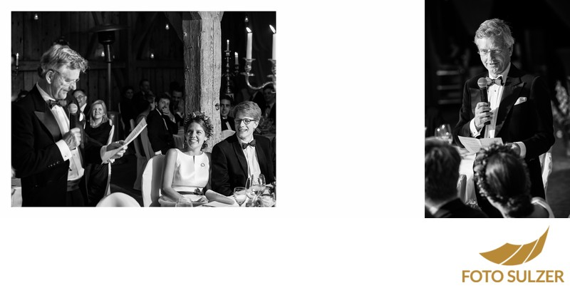 Hochzeit südlich von München - Rede Brautvater
