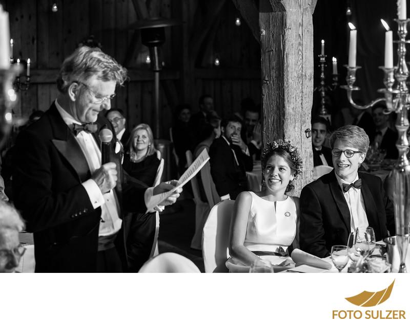 Ansprache bei Hochzeit nahe München