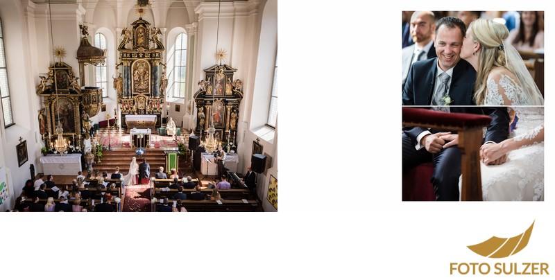 Hochzeit Kirche Saalbach - Kirche