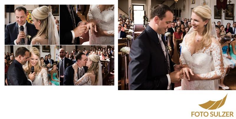 Hochzeit Kirche Saalbach - Eheversprechen