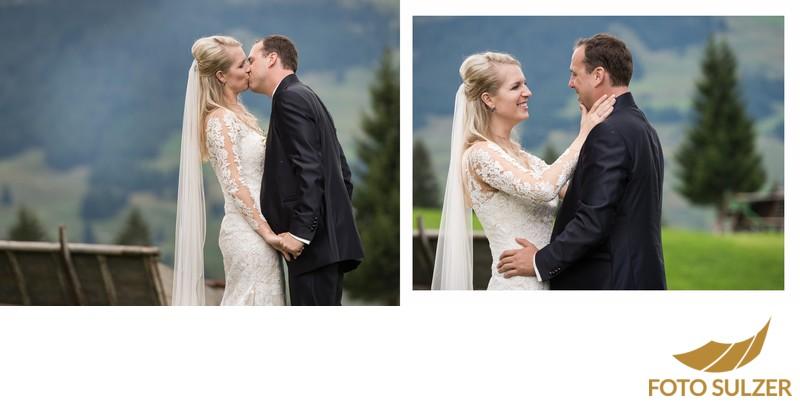 Hochzeit Der Schwarzacher Saalbach-Hinterglemm - Brautpaar