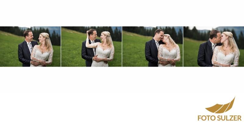 Hochzeit Der Schwarzacher Saalbach-Hinterglemm - Fotoshooting