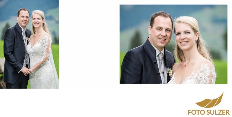 Hochzeit Der Schwarzacher Saalbach-Hinterglemm - Braut und Bräutigam