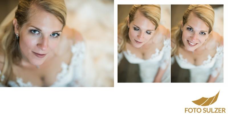 Hochzeit Der Schwarzacher Saalbach-Hinterglemm - Portrait Braut