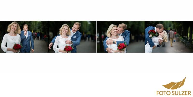Hochzeit Mirabellgarten - First Look