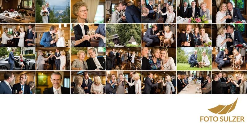 Hochzeit Romantikhotel Die Gersbergalm - Hochzietsgäste und Feier
