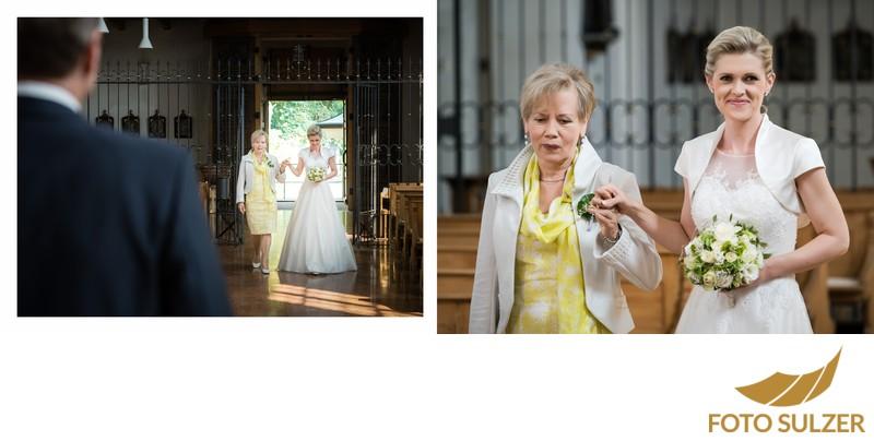 Hochzeit Kapuzinerkirche - Einzug der Braut