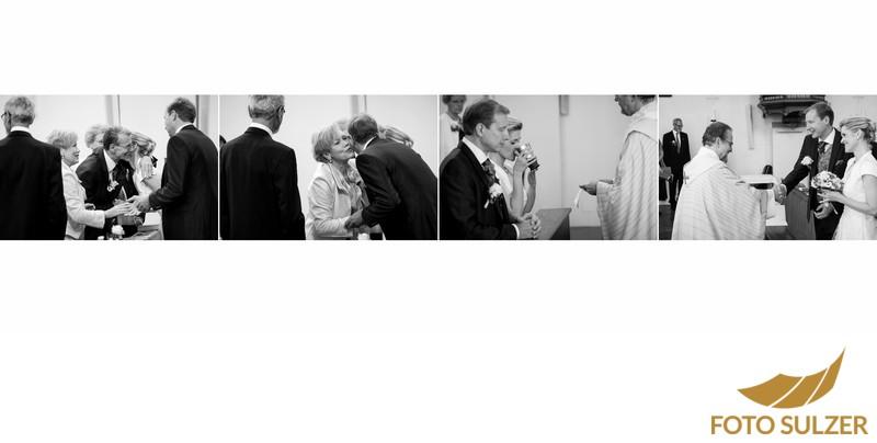 Hochzeit Kapuzinerkirche - kirchliche Zeremonie
