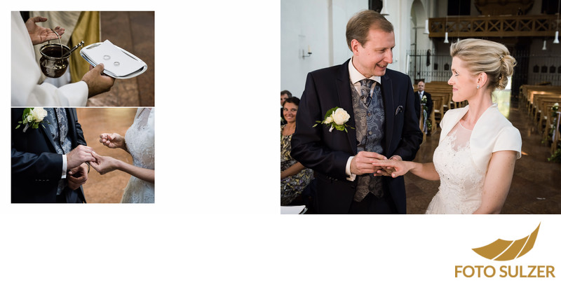 Hochzeit Kapuzinerkirche - Heirat