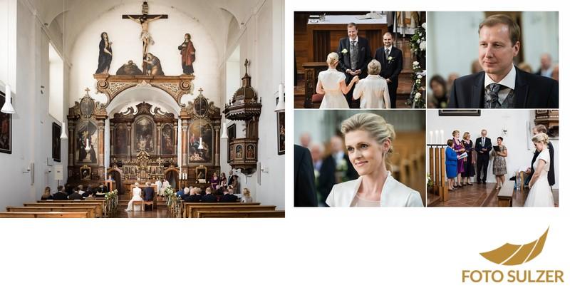 Hochzeit Kapuzinerkirche - Trauung