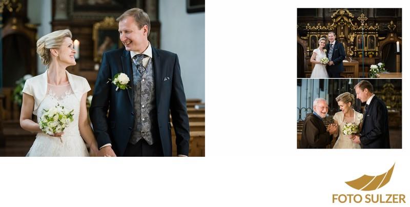 Hochzeit Kapuzinerkirche - Auszug des Brautpaares