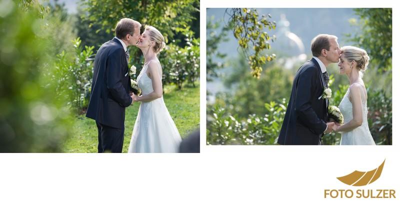 Hochzeit Kapuzinerkirche - natürliche Porträts