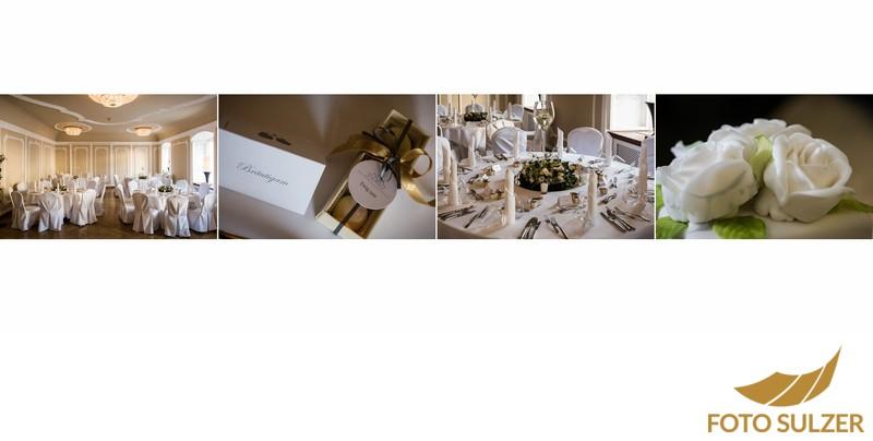 Hochzeit Stiftskeller Salzburg - Tischschmuck
