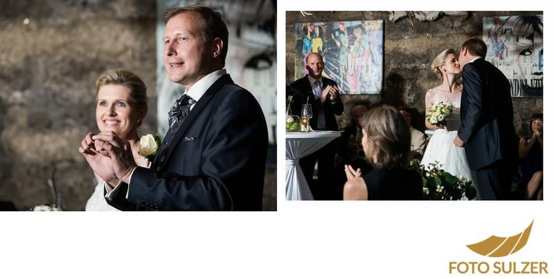 Hochzeit Stiftskeller Salzburg - Ansprache des Bräutigams