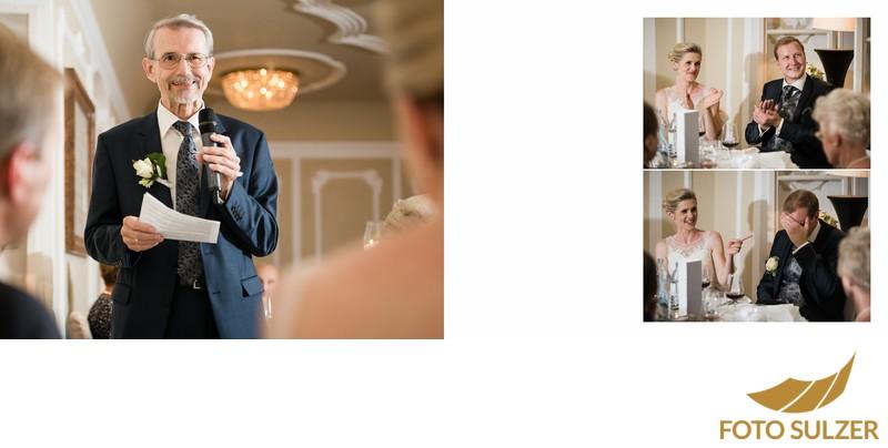 Hochzeit Stiftskeller Salzburg - Rede des Vaters