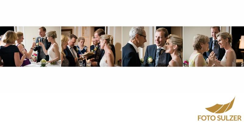 Hochzeitsbrauch des Weisens