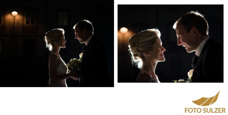 St. Peter - Besondere Hochzeitsfotos bei Nacht
