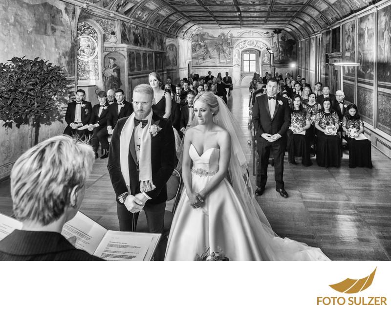 Hochzeit Schloss Goldegg  - keine analoge Hochzeitsfotografie