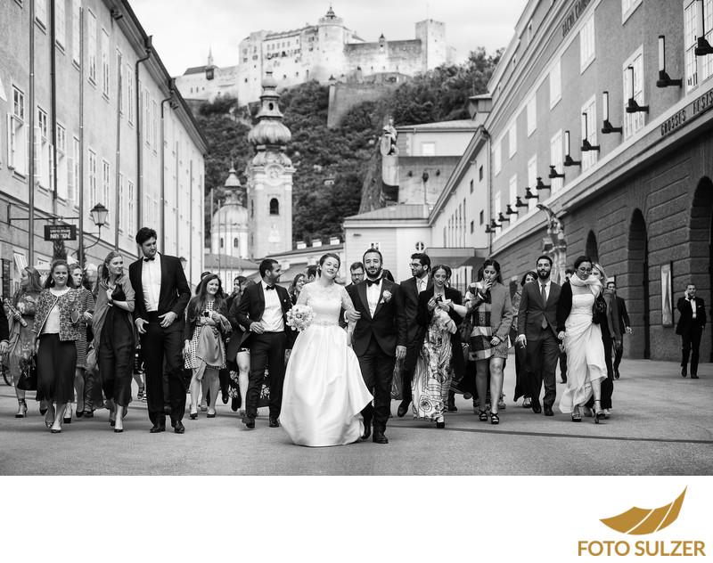 Hochzeit Franziskanerkirche Salzburg