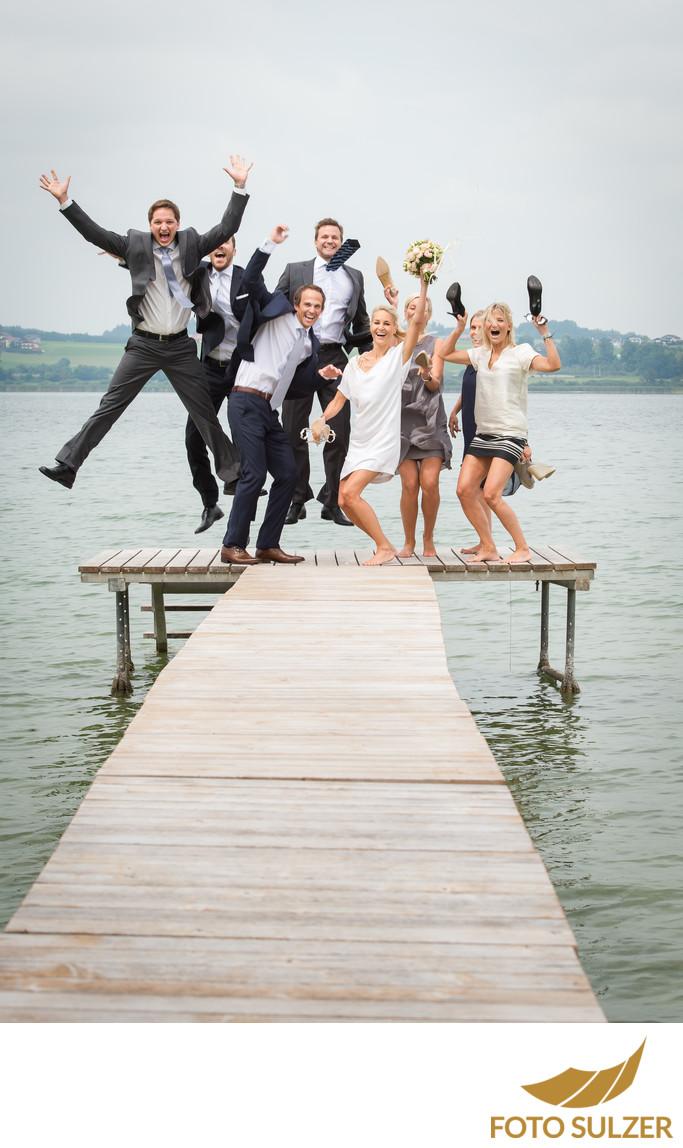 Hochzeit Weyringer Wallersee Steg