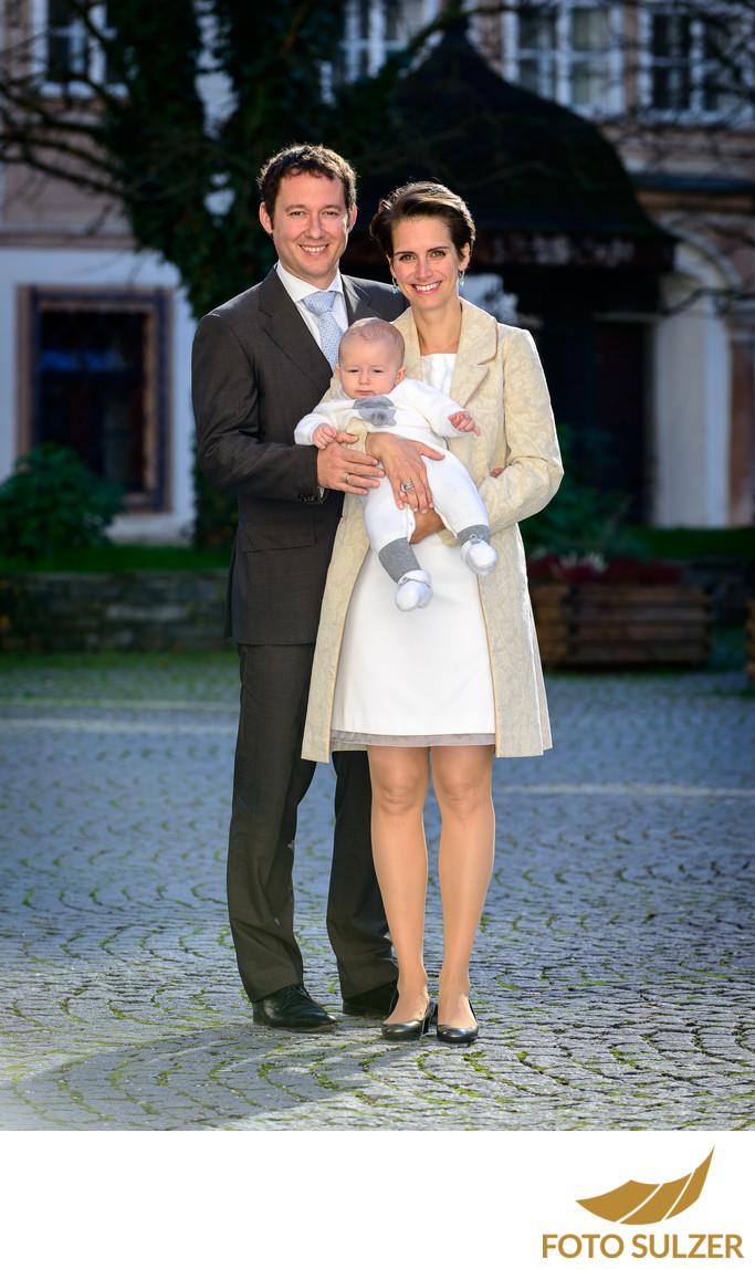 Foto von Familie Taufe Salzburg