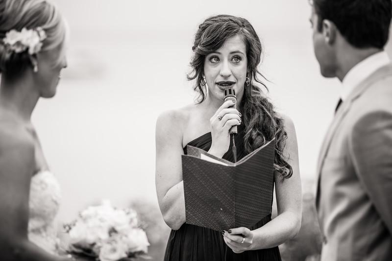 Madeline Island Wedding Ceremony