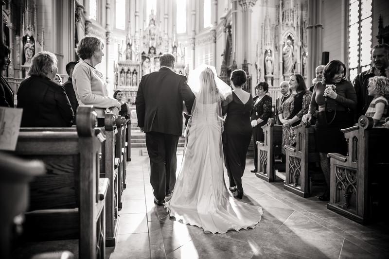 Oshkosh Cathedral Church Wedding Photography