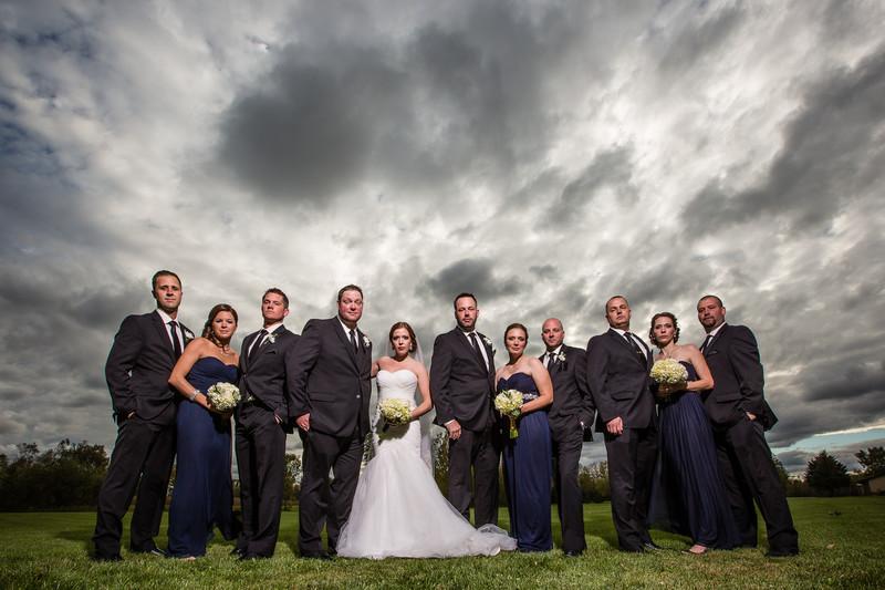 Appleton Wedding Party Photo